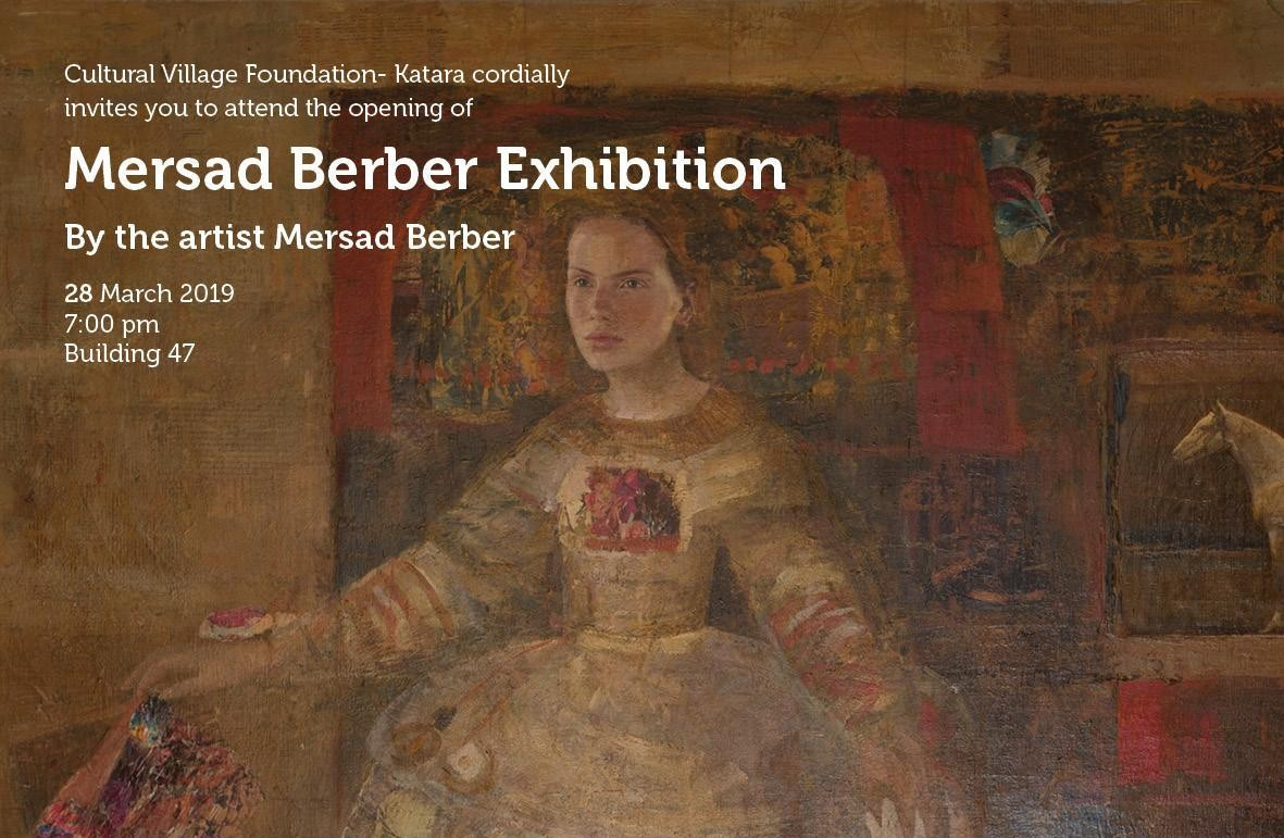 Mersad Berber Exhibition at Katara